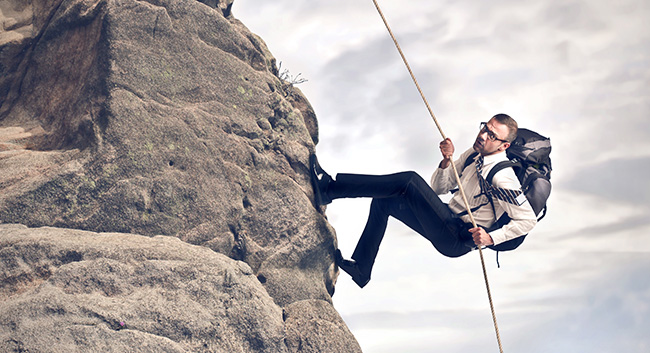 Website Development is like climbing a mountain