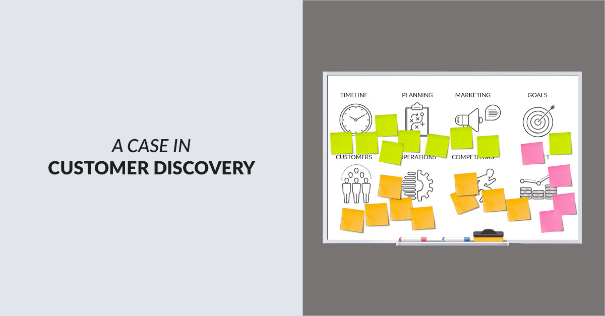 Customer Discovery Value Proposition
