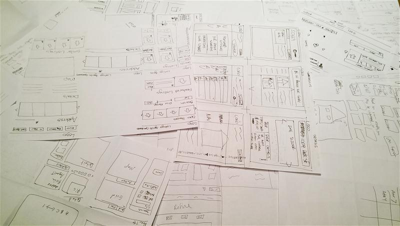 Design Studio Results - Wireframes