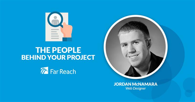 Jordan McNamara Far Reach Web Designer