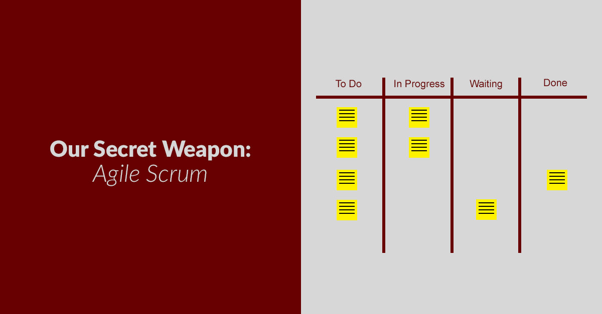 Our Secret Weapon - Agile Scrum