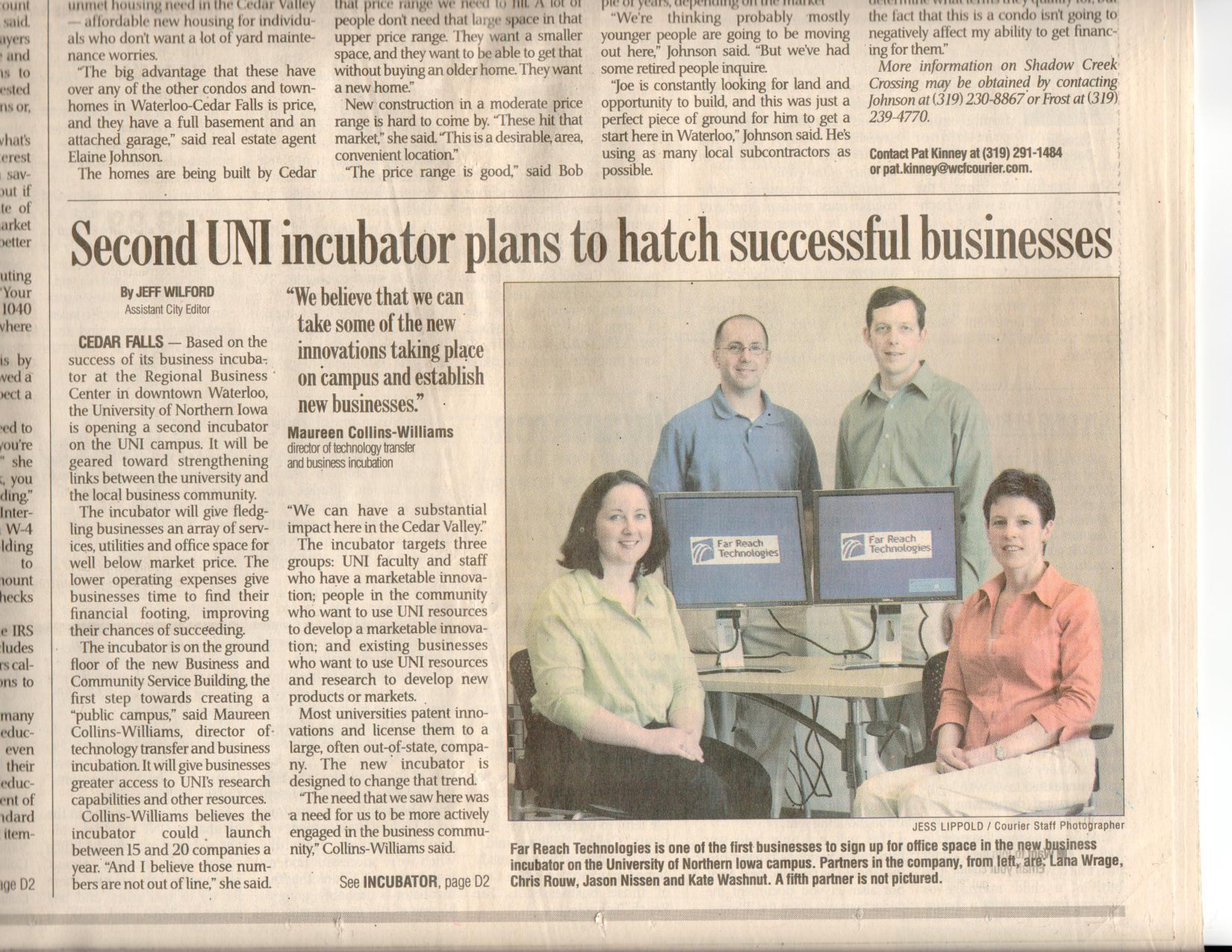Second UNI Incubator Plans To Hatch Successful Businesses