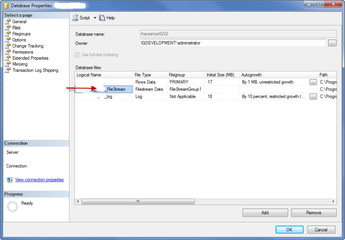 Storing files in sql server using wcf ria services and silverlight