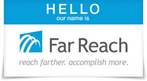 Far Reach name badge