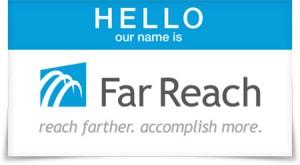 Far Reach name badge