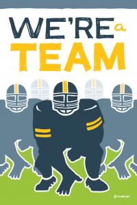 Far Reach Core Value #7 We're a Team