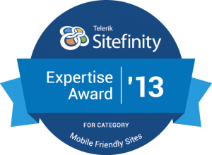 Sitefinity Mobile Expertise Award